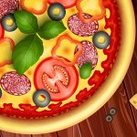 Pizza maker cooking and baking games for kids